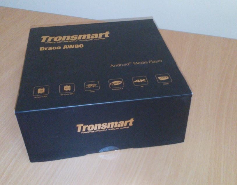 Unboxing: Tronsmart Draco AW80